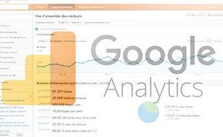 Google Analytics : trafic de référents et résultats naturels