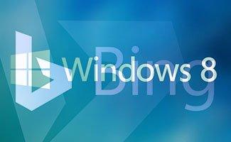Bing intégré sous windows 8 sans navigateur