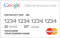 Adwords Business Credit chez google