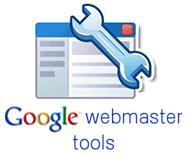 logo de Google webmaster tools.
