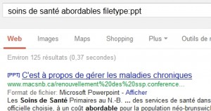 Recherche de PDF sur google
