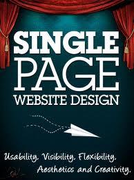 site web contenu sur une page