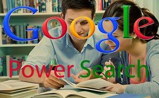 Cours de recherche avancée sur Google Power Searching