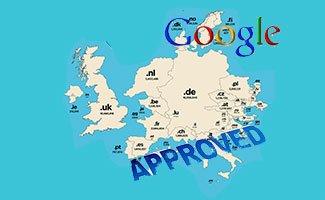 Google approuve-t'il l'utilisation d'un domaine sans rapport avec le pays