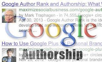Google authorship s'incruste dans la recherche image