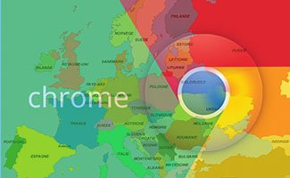 L'hégémonie de Google Chrome en Europe