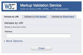 w3c validator HTML valide