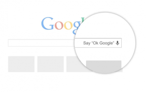dites ok google pour lancer une requête