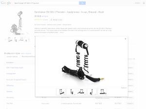 Google shopping permet une vue à 360° sur les images
