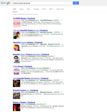 Google teste actuellement l'ajout d'image dans les résultats de recherche