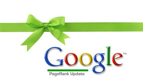 cadeau de google la mise à jour du pagerank