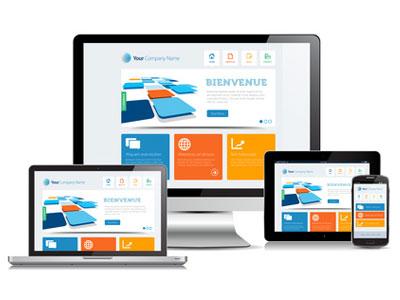 création de site vitrine avec WEB-BIZ