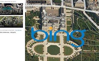 Le service de cartographique de Bing encore amélioré !