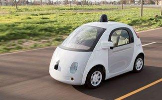 Voitures Google sans chauffeur autorisées à circuler sur les routes californiennes