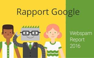 lutte contre le spam pour Google en 2016