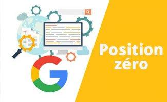 Position zéro de Google