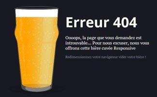 Comment faire convertir une page 404 ?
