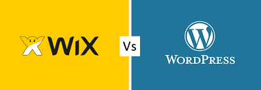 Wix ou WordPress, le comparatif